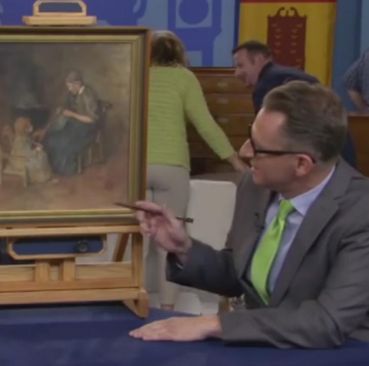 Мальчик случайно купил картину всего за 2 доллара, а оказалось, что она стоит целое состояние