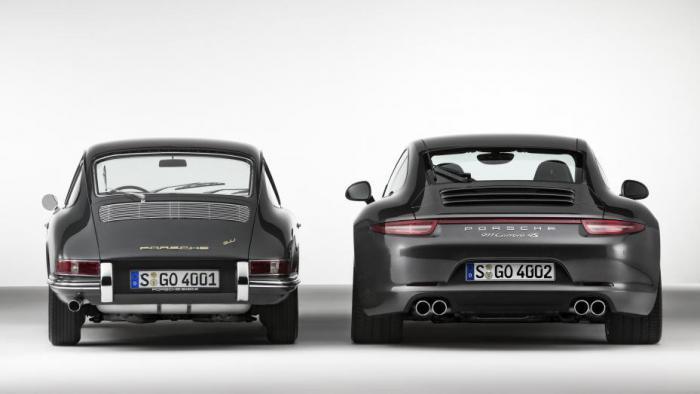 Эволюция Porsche девятьсот одиннадцать за 50 два года существования