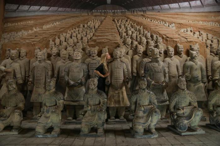 Терракотовая армия в Сиане