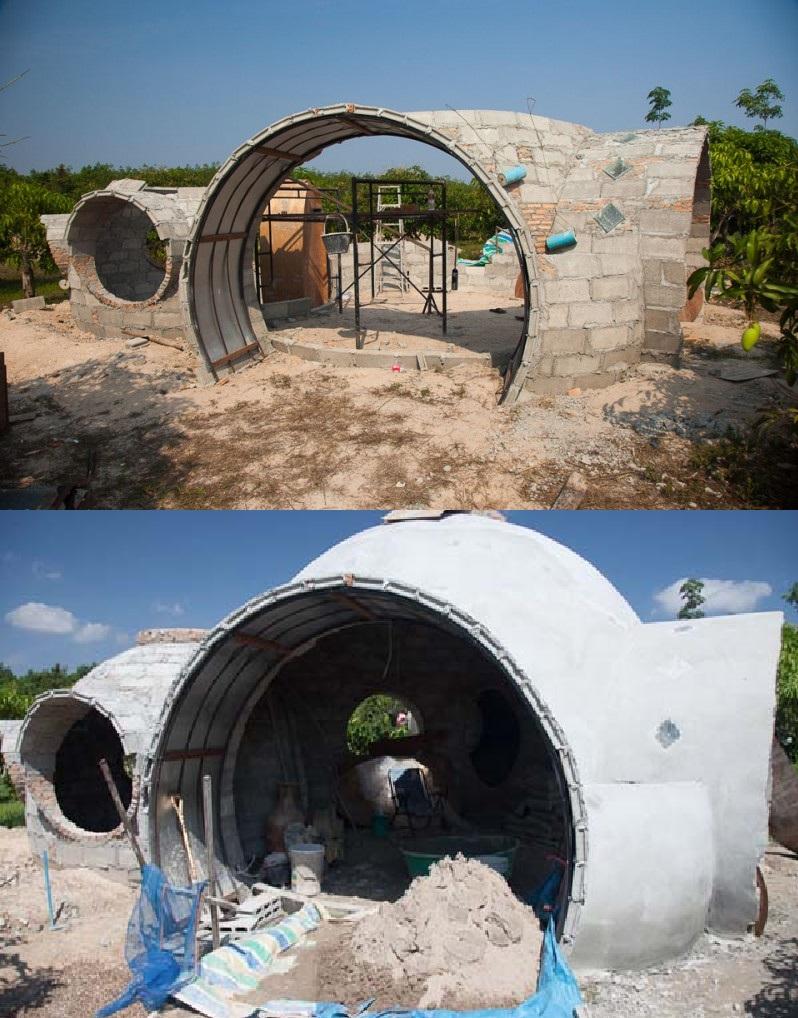У него было желание и совсем немного денег: мужчина построил дом своей мечты за 9 тысяч долларов и 6 недель