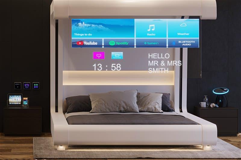Эксперты по технологиям, искусственному интеллекту и гостиничному бизнесу создали интерактивный номер отеля будущего (фото)