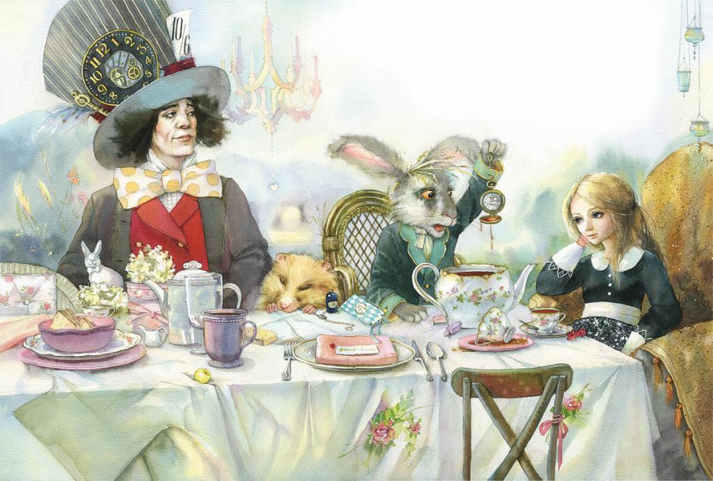 Алиса в стране чудес приколы картинки