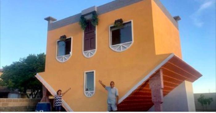 Жена подумала, что муж сошел с ума, когда увидела дом, который он построил. Но когда она зашла внутрь, у нее отлегло от души
