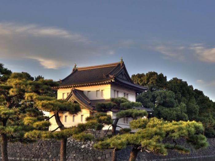 Дворец в Токио