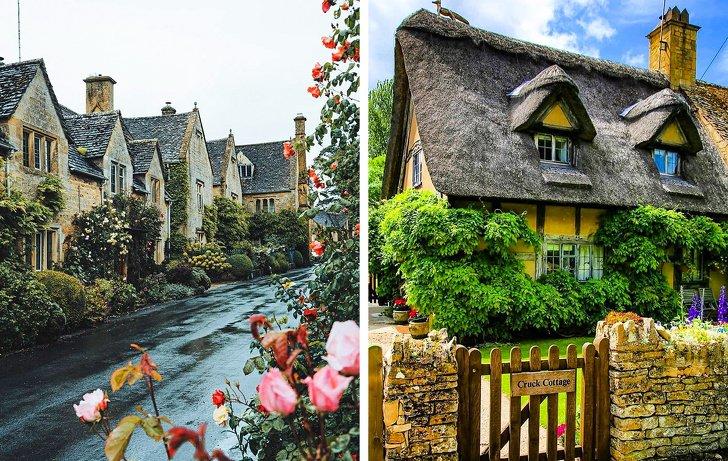 Лакок, Бибери и другие деревни в Англии, которые выглядят как места из сказок