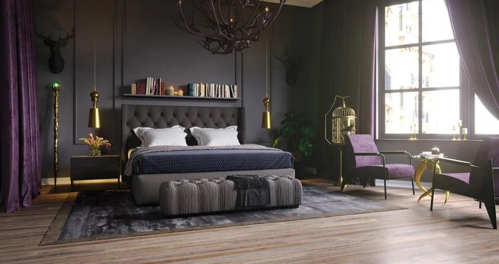 Дизайнеры представили варианты комнат диснеевских злодеев.