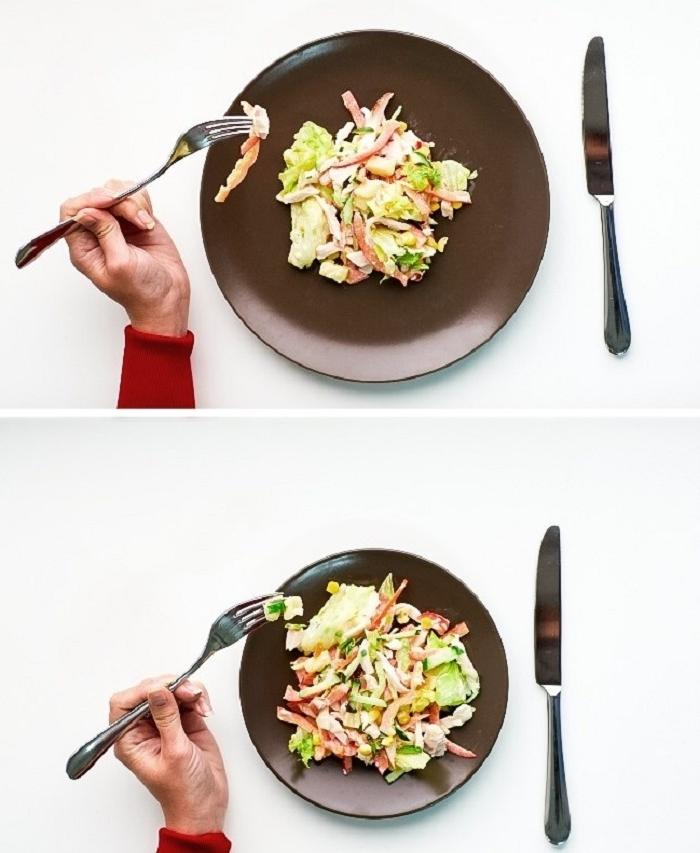 Разные размеры тарелок