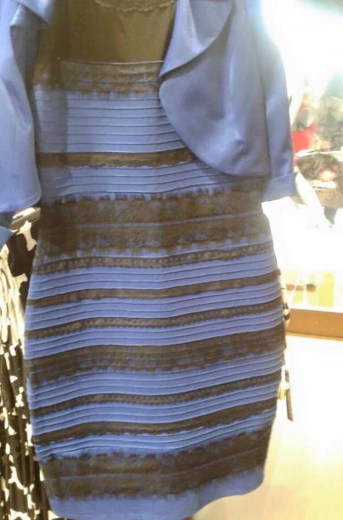 Секрет «таинственного» платьица: почему люди лицезреют его бело-золотым…