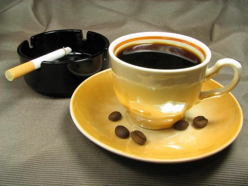 Картинки сигарета кофе