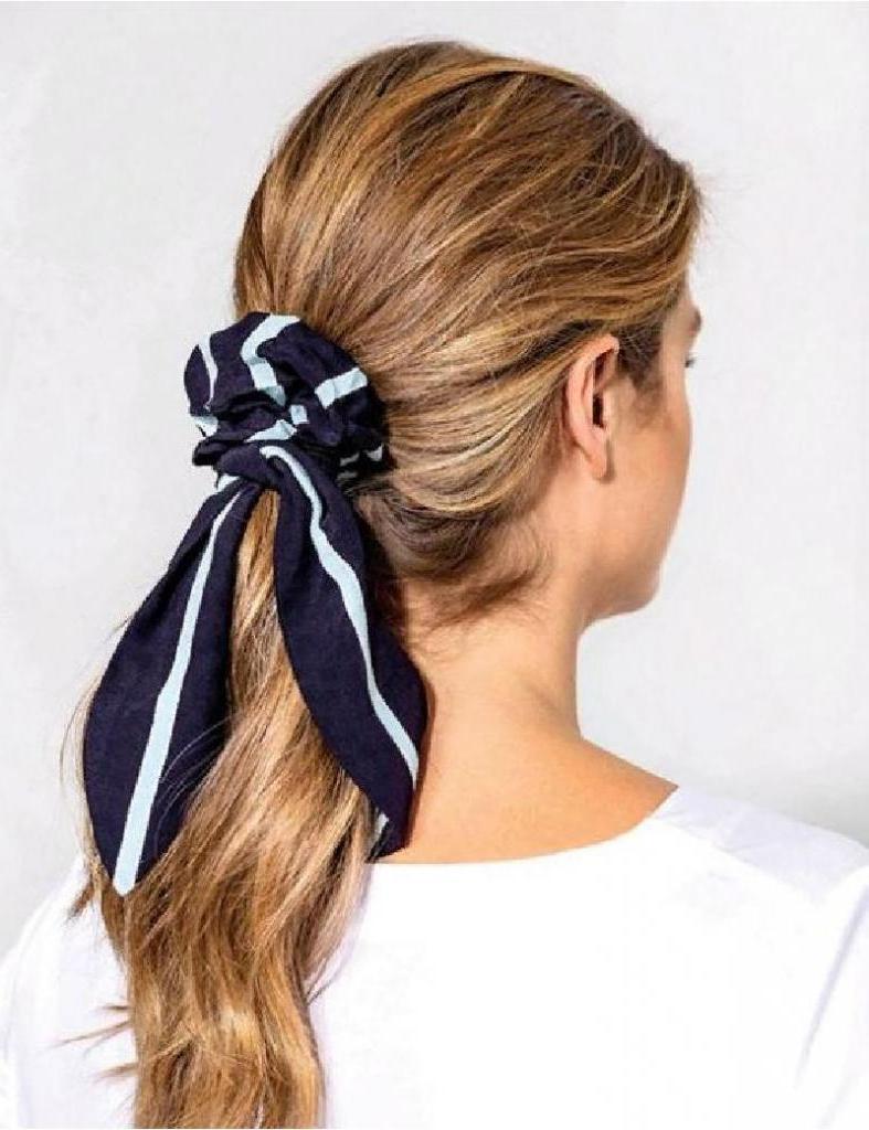 Легко и быстро делаем самый модный аксессуар этой осени для волос своими руками
