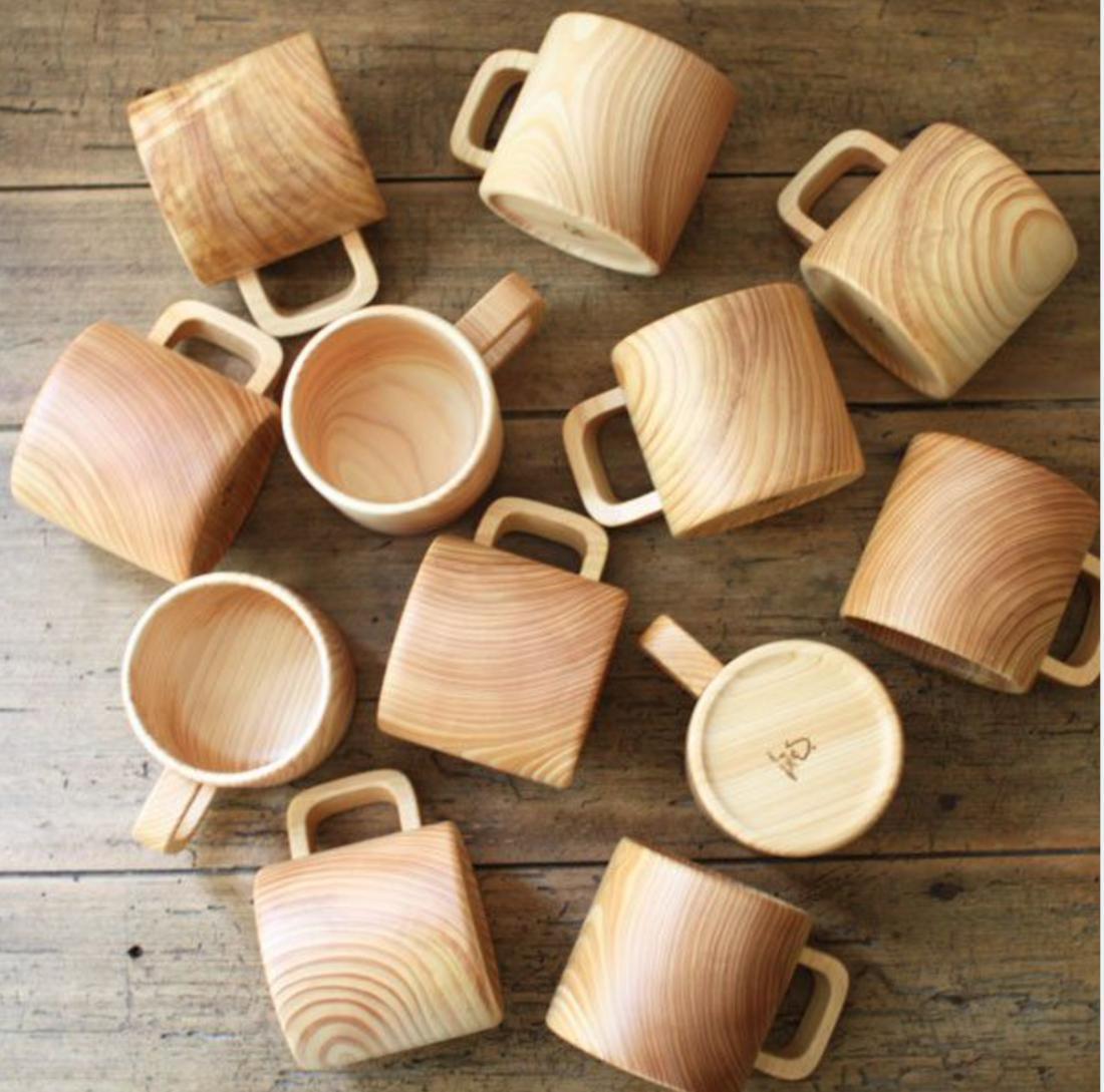 Как сделать деревянную кружку кружка из дерева Hand-made 65