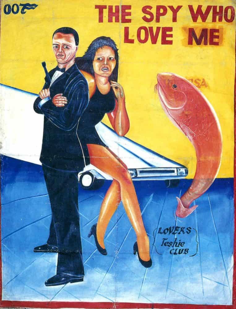 Веселые постеры к фильмам, созданные художниками: «Терминатор», «Женщина-кошка» и другие