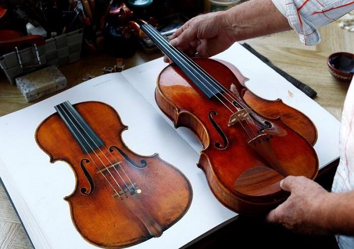 35 лет назад отец смастерил для своего сына скрипку: теперь инструменты, сделанные его руками, стоят целое состояние