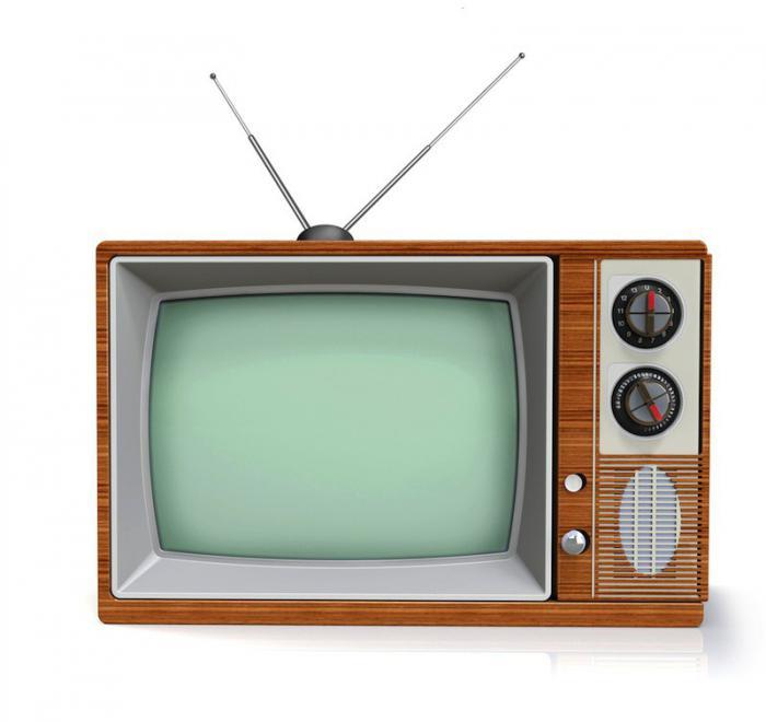 Телевизор с антенной картинка