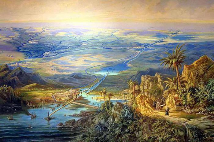 9 неописуемых фактов о Суэцком канале