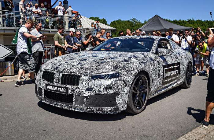 What will be different the BMW M8 from its predecessors?