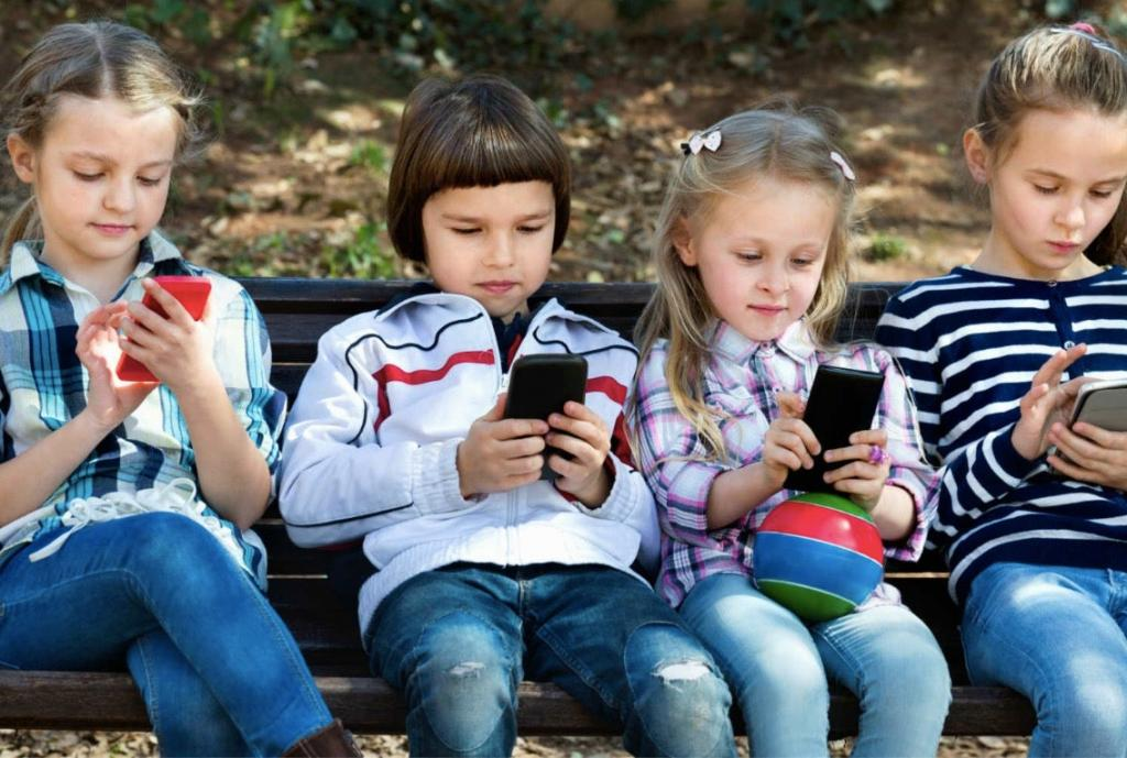 Современные дети картинка