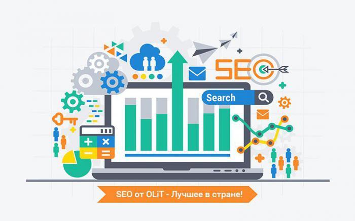 услуги компании OLIT - SEO-оптимизация и модернизация сайта