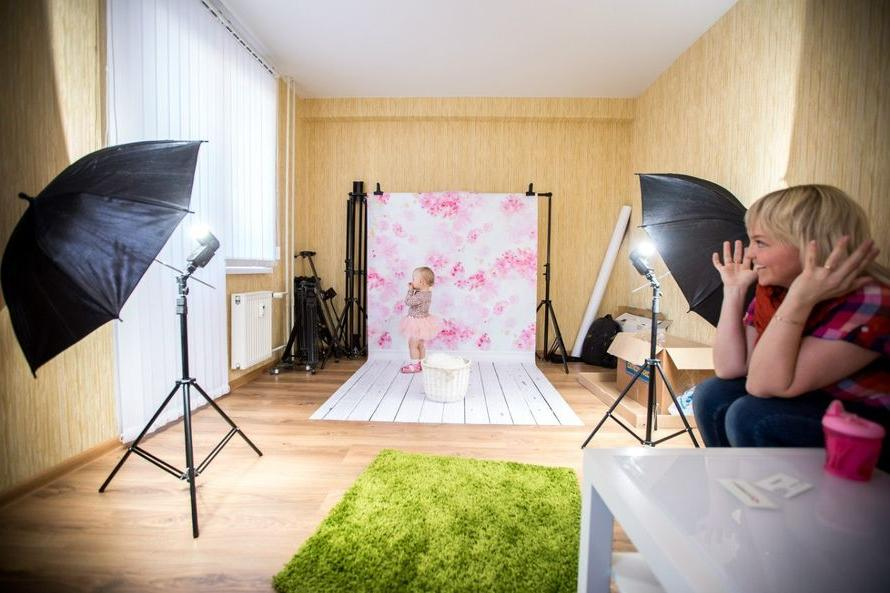 создать в дом условиях фотостудию эта концепция очень