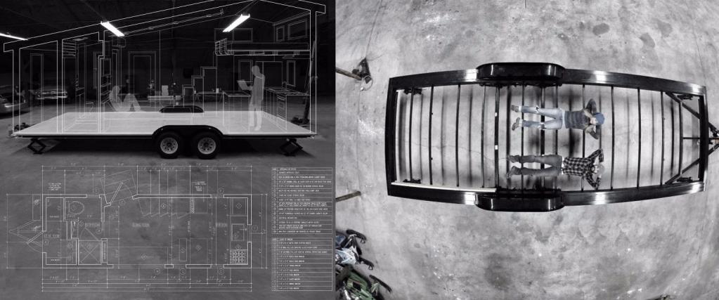 Сосед сделал брусчатый каркасно-щитовой трейлер для машины с нуля и поделился технологией. Пошаговый процесс с фото