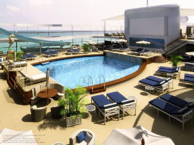 Роскошный океанский лайнер Utopia: жилье для тех, кто не любит стоять на месте