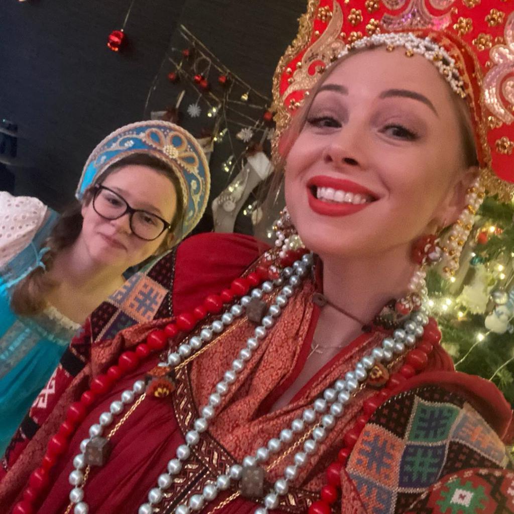 Жена Дмитрия Диброва рассказала, как она с мужем и детьми встретила Новый год