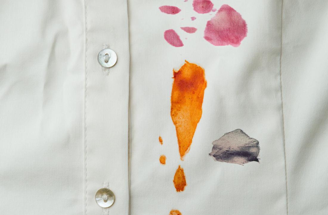 Чем вывести пятна от масла на рубашке фото