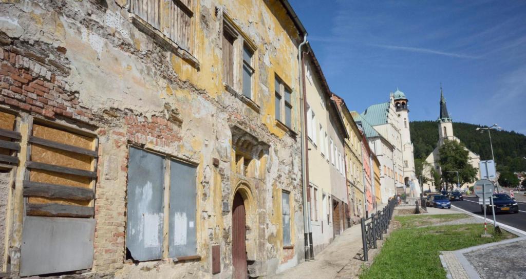 Провинциальный город Яхимов в чешской глубинке - старинная родина американского доллара