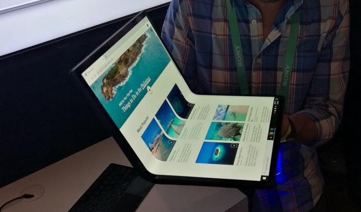 На CES 2020 был представлен складной компьютер: под него специально разрабатывают ОС Windows 10X