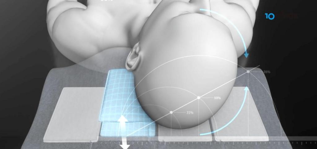 Южнокорейская компания разработала подушку, которая поворачивает человеку голову при храпе