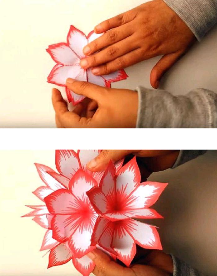 Открытка с цветами пошаговая инструкция