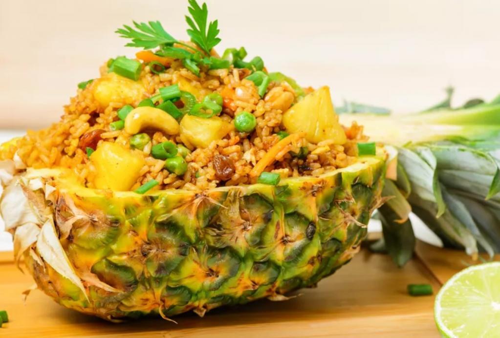 фьюжн это салат в ананасе рецепт с фото тайский кашалоты описание
