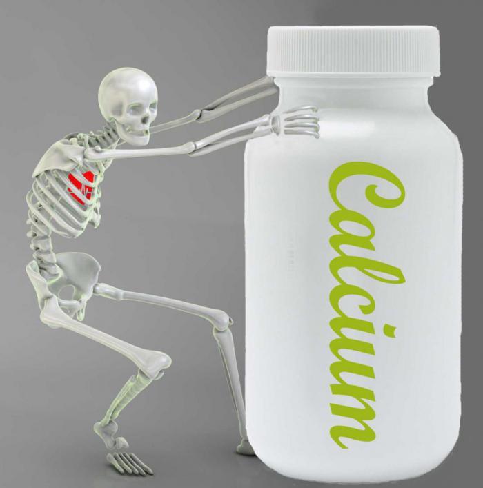 Кальций не так полезен для костей, как числилось ранее