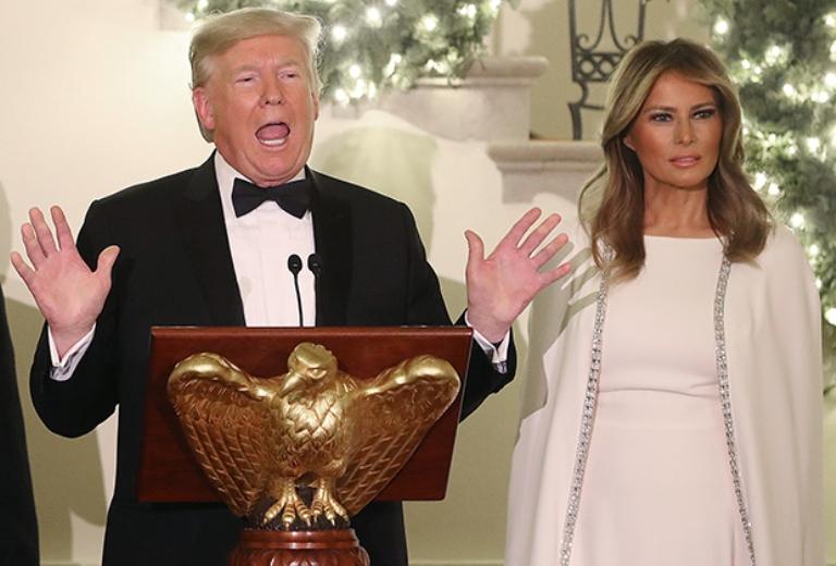 Мелания Трамп - эталон успешной женщины. Как проходит ее обычный день?