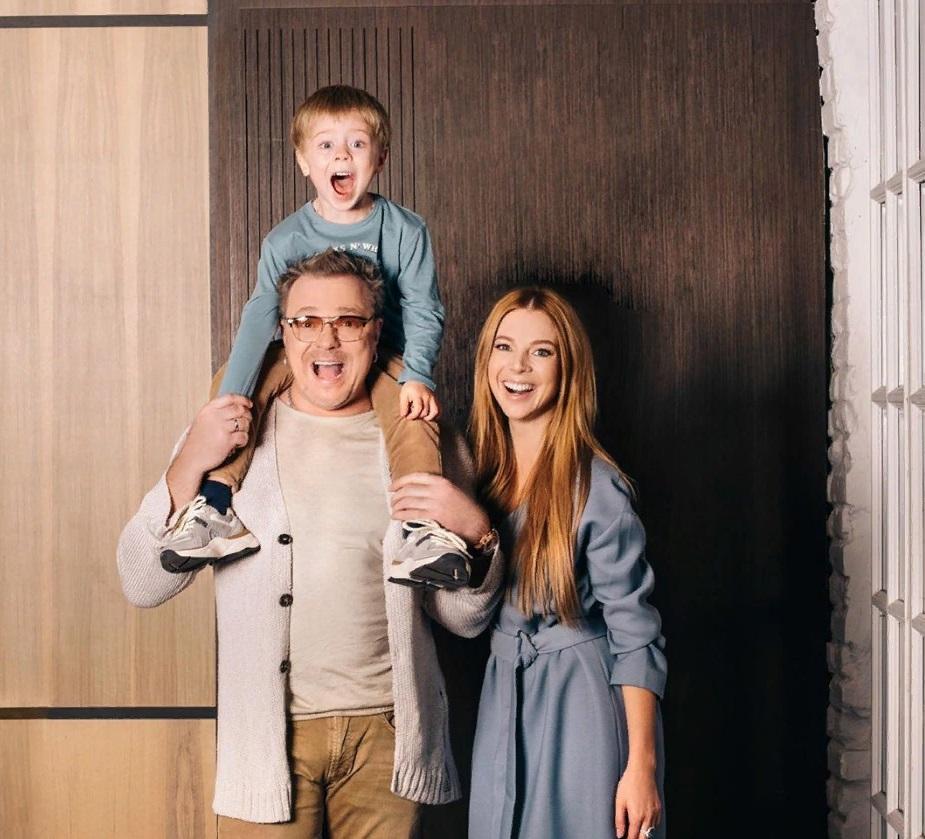 Подросший сын Подольской и Преснякова на новых фото - папина копия