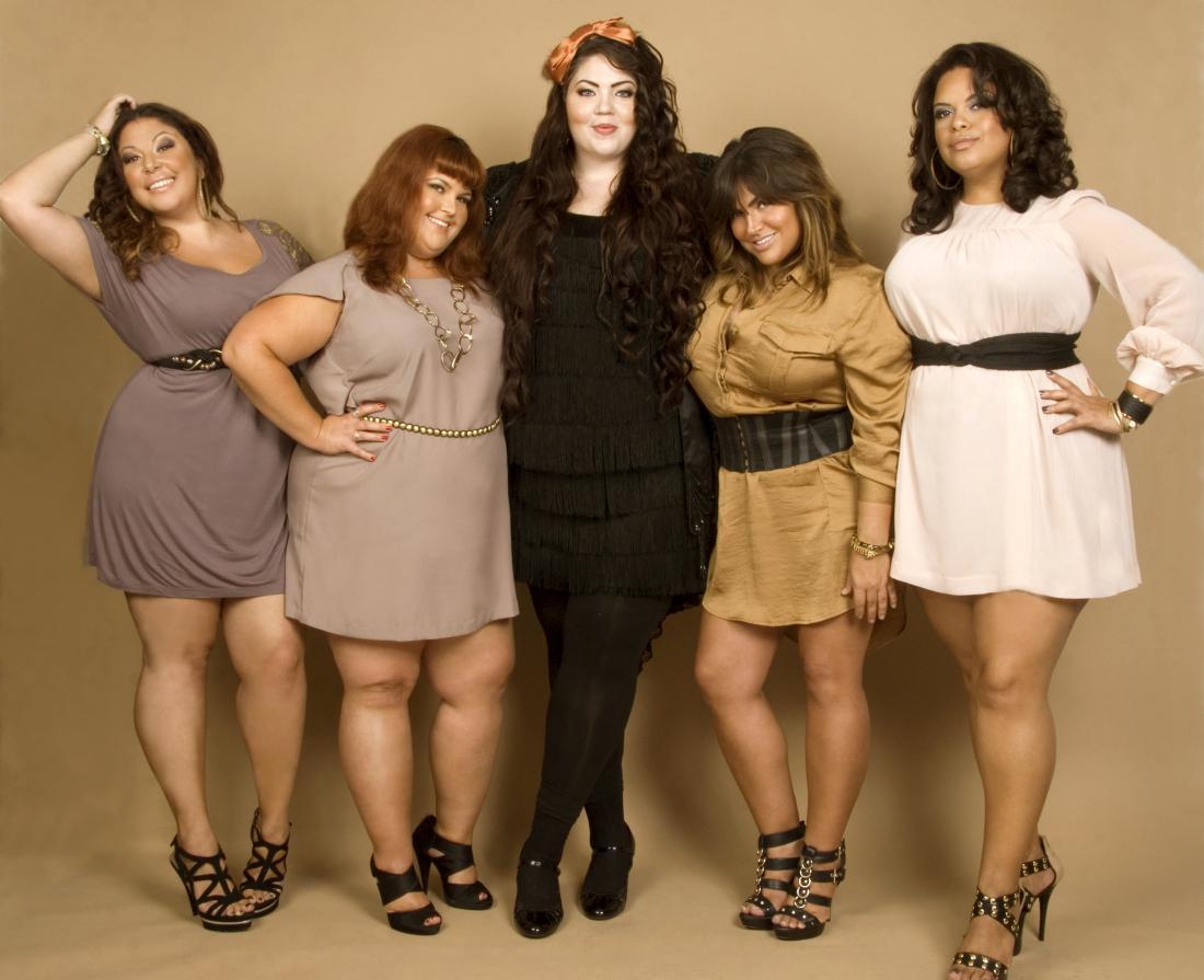 Толстушки в платьях фото, Пышные девушки -фото. Шикарные формы тела 3 фотография