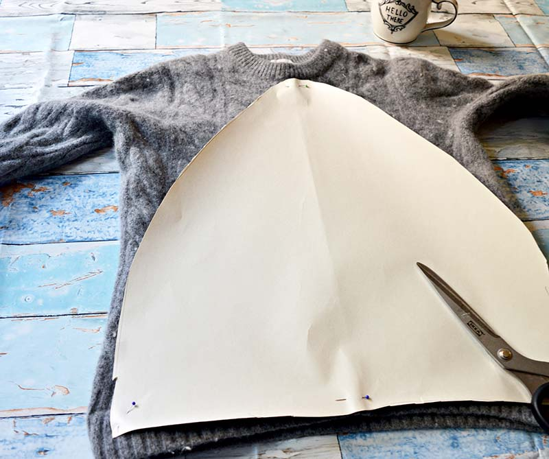 Делаем мягкие декоративные подушки в виде гор: мастер-класс
