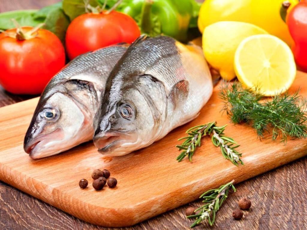 картинки рыб для еды