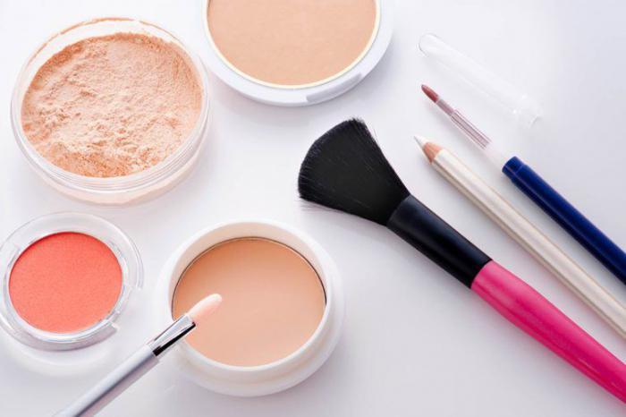 Косметические средства для макияжа