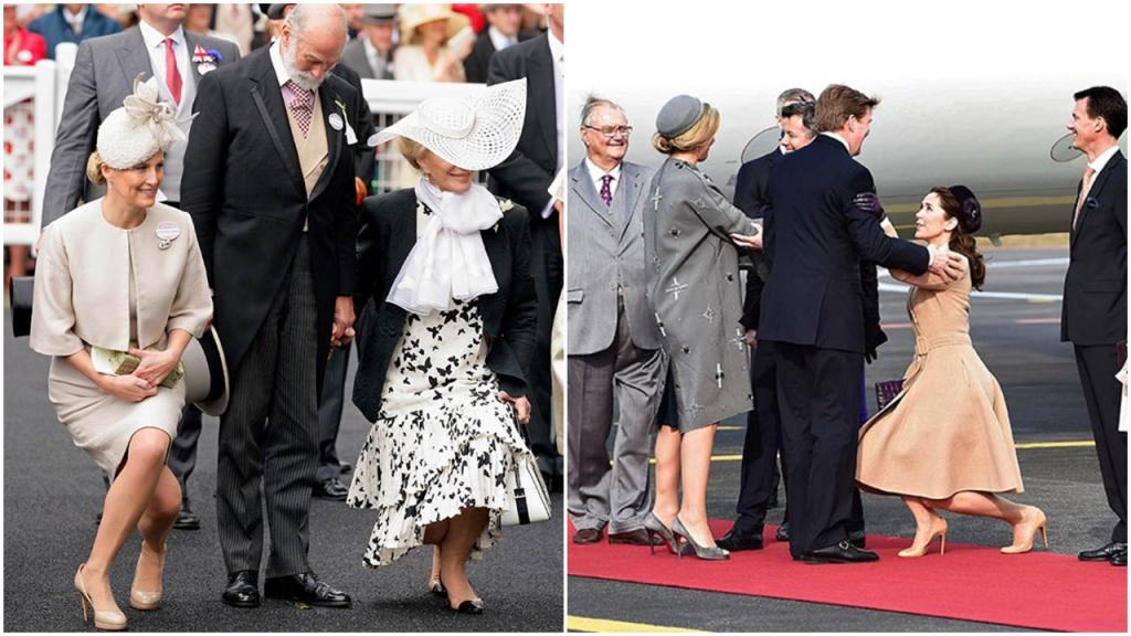 Рукопожатия отменяются, но девушкам не стоит беспокоиться: лучшие королевские реверансы всех времен