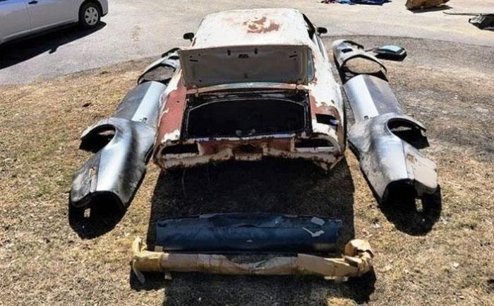 Моделист-конструктор: Понтиак Trans Am 455 1973 года продают за $15 000, но покупателю придется собирать его по частям