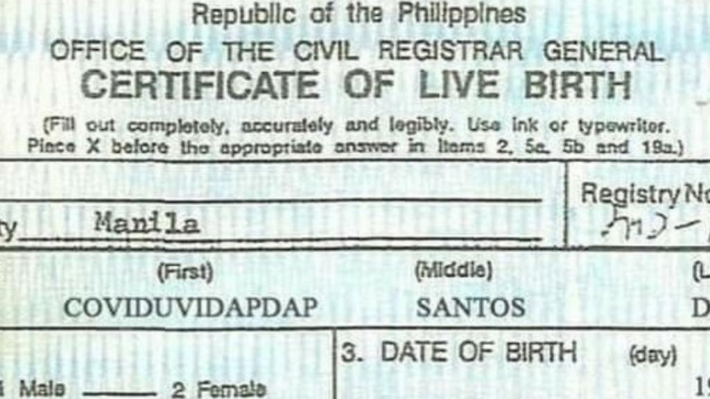 Филиппинцы дошли до абсурда: родители дают имена новорожденным в честь коронавируса