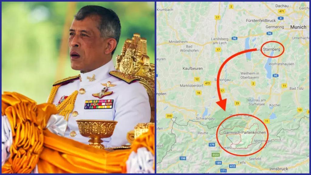 Король Таиланда прячется от коронавируса в роскошном отеле баварских Альп