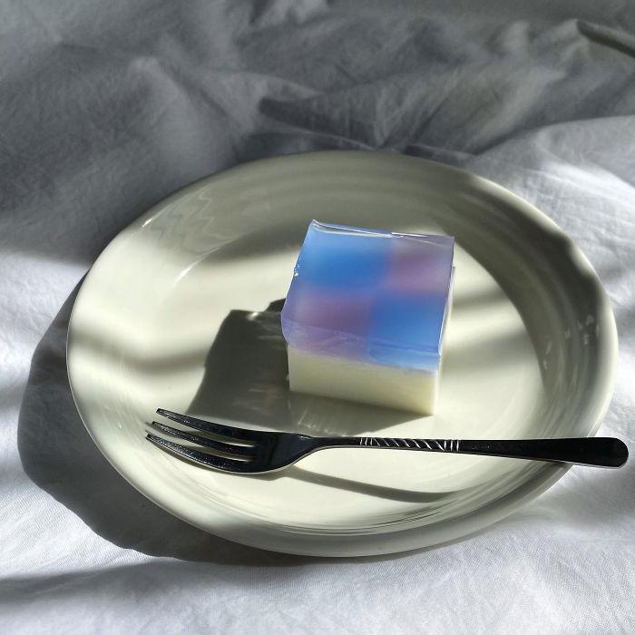 Эстетически красивый японский торт, который покорил пользователей по всем миру: нужны всего 5 ингредиентов и немного времени