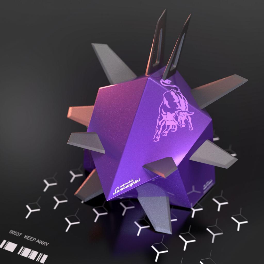 """Как выглядела бы молекула коронавируса, если бы ее разработали """"Порше"""", """"Ламборджини"""" и другие автопроизводители"""