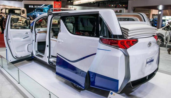 Самые изумительные концепты, выставленные на автомобильном салоне в Токио