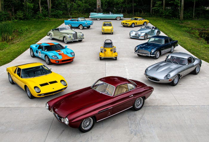 Десятки миллионов долларов от продажи коллекции из 240 редких авто пойдут на погашение долгов владельца