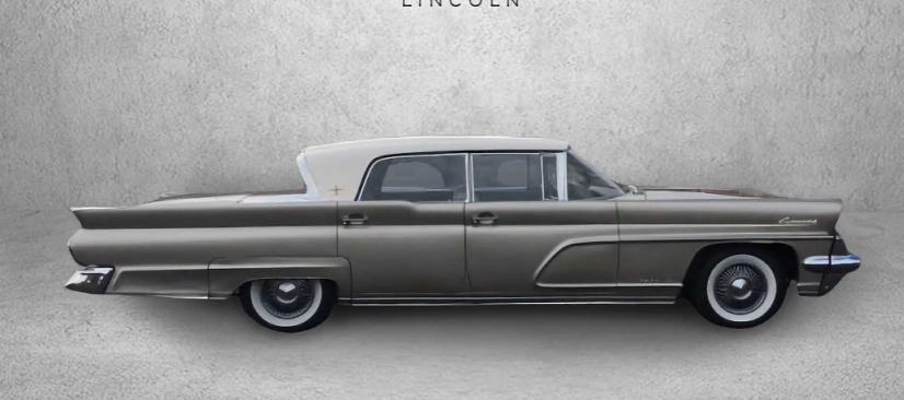 От оригинальной модели 1939 года до последнего образца 2017 года: эволюция Lincoln Continental в одном видеоролике