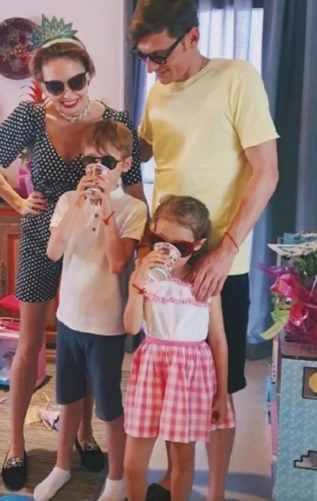 павел воля со своими детьми фото такие