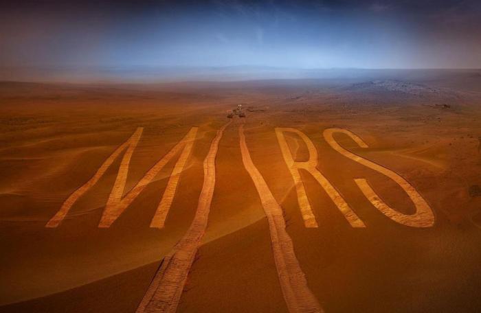 НАСА планирует производить кислород на Красной планете (7 фото)